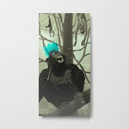 Uneasy Lies the Head That Wears the Holographic Crown Metal Print