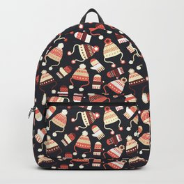 Cozy Winter Clothes Backpack