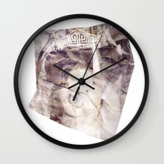 Your Time is Over Wall Clock