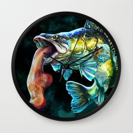 Footish Wall Clock
