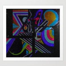 Pastel Series Nebulae Art Print