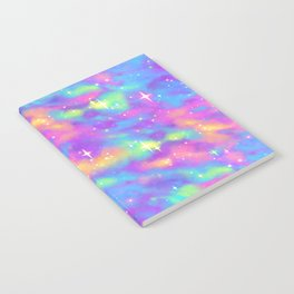 Pastel Galaxy Notebook