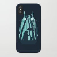 grand theft auto iPhone & iPod Cases featuring My Neighbor Totoro by filiskun