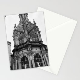 Gothic French Architecture Stationery Cards