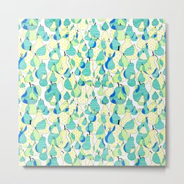 Fruit of the Day: Pear Metal Print