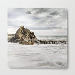 Ocean Sorm 4 Metal Print