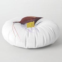 BIRD FROM PARADISE  Floor Pillow