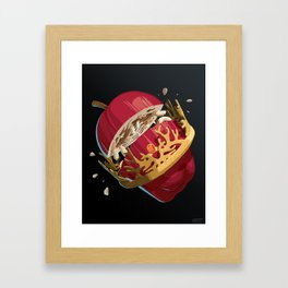 The Rotten King - WORDLESS Framed Art Print