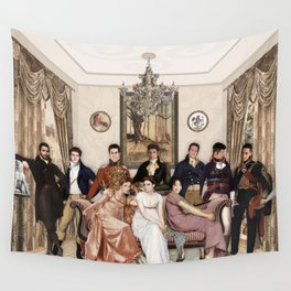 Pride and Prejudice and Werewolves Wall Tapestry