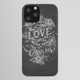 Harry Potter - The Ones That Love Us iPhone Case