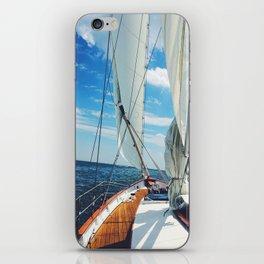 Sweet Sailing iPhone Skin