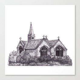 All Saints Parish Church Canvas Print