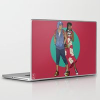 lilo and stitch Laptop & iPad Skins featuring Lilo & Stitch by Hyung86