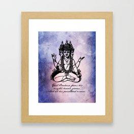 John Keats - Endymion - Brahma Framed Art Print