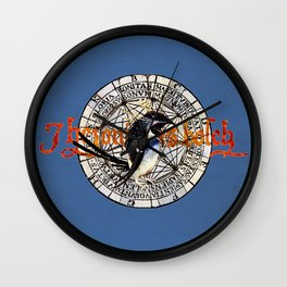 Bosch Angry Penguin Wall Clock