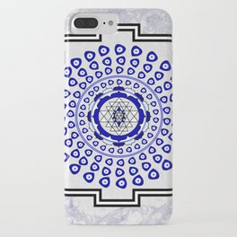108 Evil Eye Sri Yantra iPhone Case