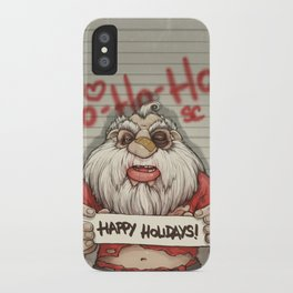 Busted Xmas iPhone Case
