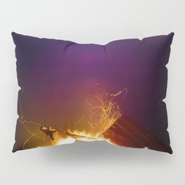 The Fire Sunset (Color) Pillow Sham