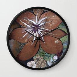"""Evolve"" Wall Clock"