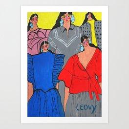 fashion week Mexico #2 Art Print