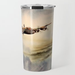 Avro Lancaster Aircraft Travel Mug