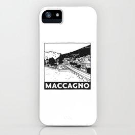 Maccagno, Lago Maggiore, Italy iPhone Case
