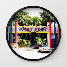 Rocky Point Amusement Park Photograph #3 – Warwick, Rhode Island Wall Clock