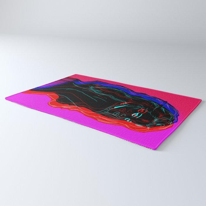The Neon Demon Rug