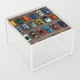 1980's Toy Cars Acrylic Box