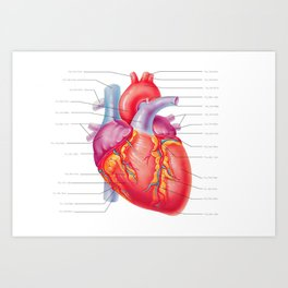 You Are Here (In My Heart) Art Print