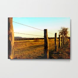 The Gauntlet Metal Print