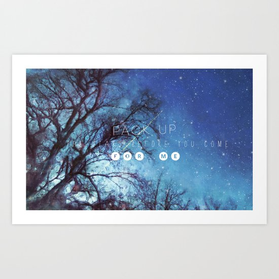 Stardust* in your eyes Art Print