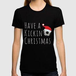 Top Fun Kickin Christmas Soccer T-shirt