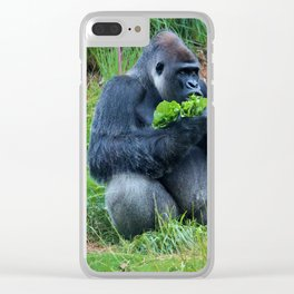 Lettuce For Lunch Clear iPhone Case
