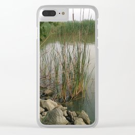 In the Rushes Clear iPhone Case
