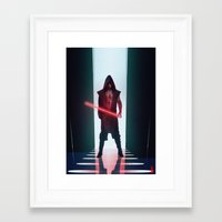 sith Framed Art Prints featuring Sith by Shaun S Minns