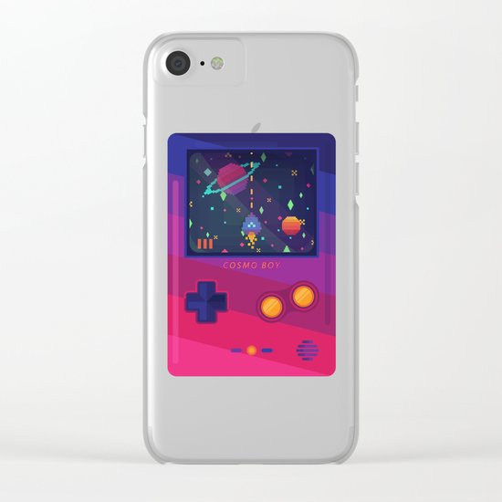 COSMO BOY Clear iPhone Case
