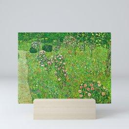 "Gustav Klimt ""Orchard With Roses"" Mini Art Print"