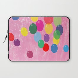 Balloons in a Cotton Candy Sky Laptop Sleeve