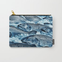 Market Fresh Salmon by Crow Creek Cool Carry-All Pouch