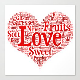 Fruits Of Love  Canvas Print