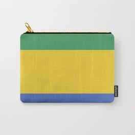 Gabon flag emblem Carry-All Pouch