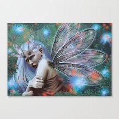 Dragonfly lady Canvas Print