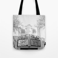 hitchcock Tote Bags featuring Hitchcock by Devic Fotos