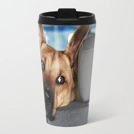 Tanner In the Backseat Travel Mug