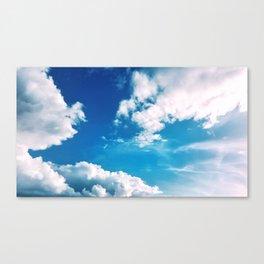 just a sky Canvas Print