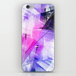 Replica - Geometric Abstract Art iPhone Skin