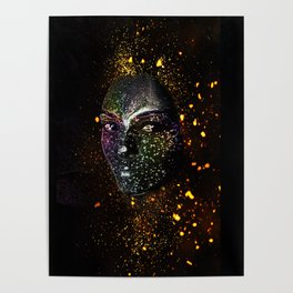 Goddess of Cosmos Poster
