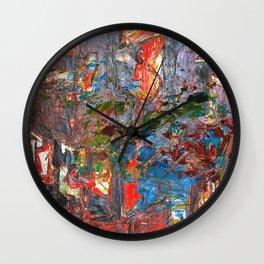 I Awoke Thinking Wall Clock