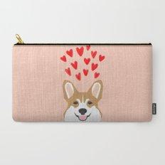 Valentines - Love Corgi  Carry-All Pouch